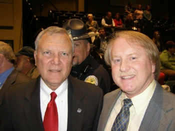 Joey Nicholson and GA Governor Nathan Deal