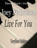 Live For You Sheet Music (downloadable file-pdf)